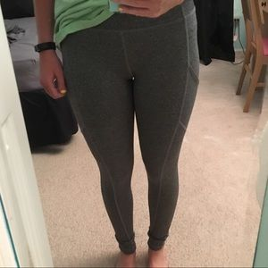Pants - Grey workout leggings